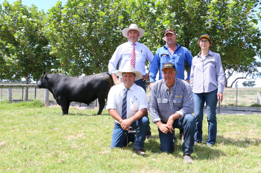 2017 Top Price Bull at Granite Ridge Angus Sale